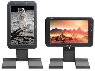 The Mimo Mini USB Monitor can be used in either landscape or portrait(Picture: ThinkGeek)