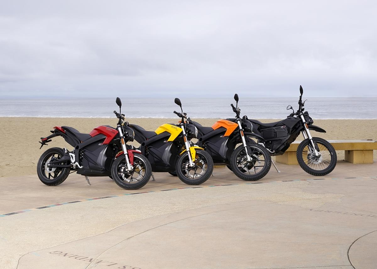 Zero has announced unveiled its 2015 range of high-performance electric motorcycles