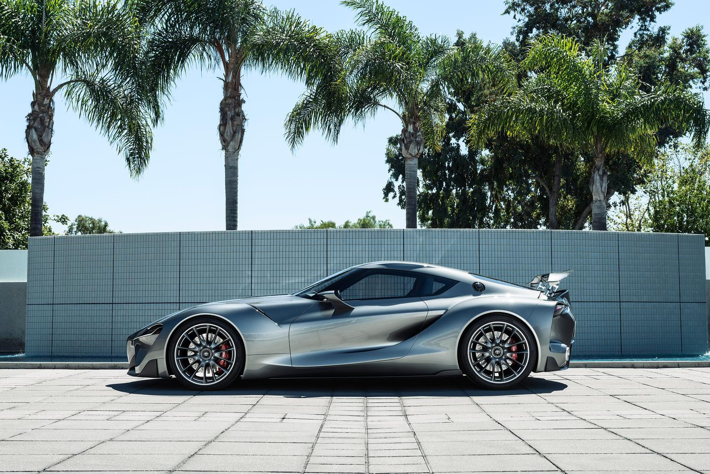 Toyota debuted the new FT-1 in Monterey