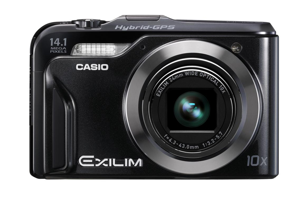 Casio's EXILIM EX-H20G features a Hybrid GPS system