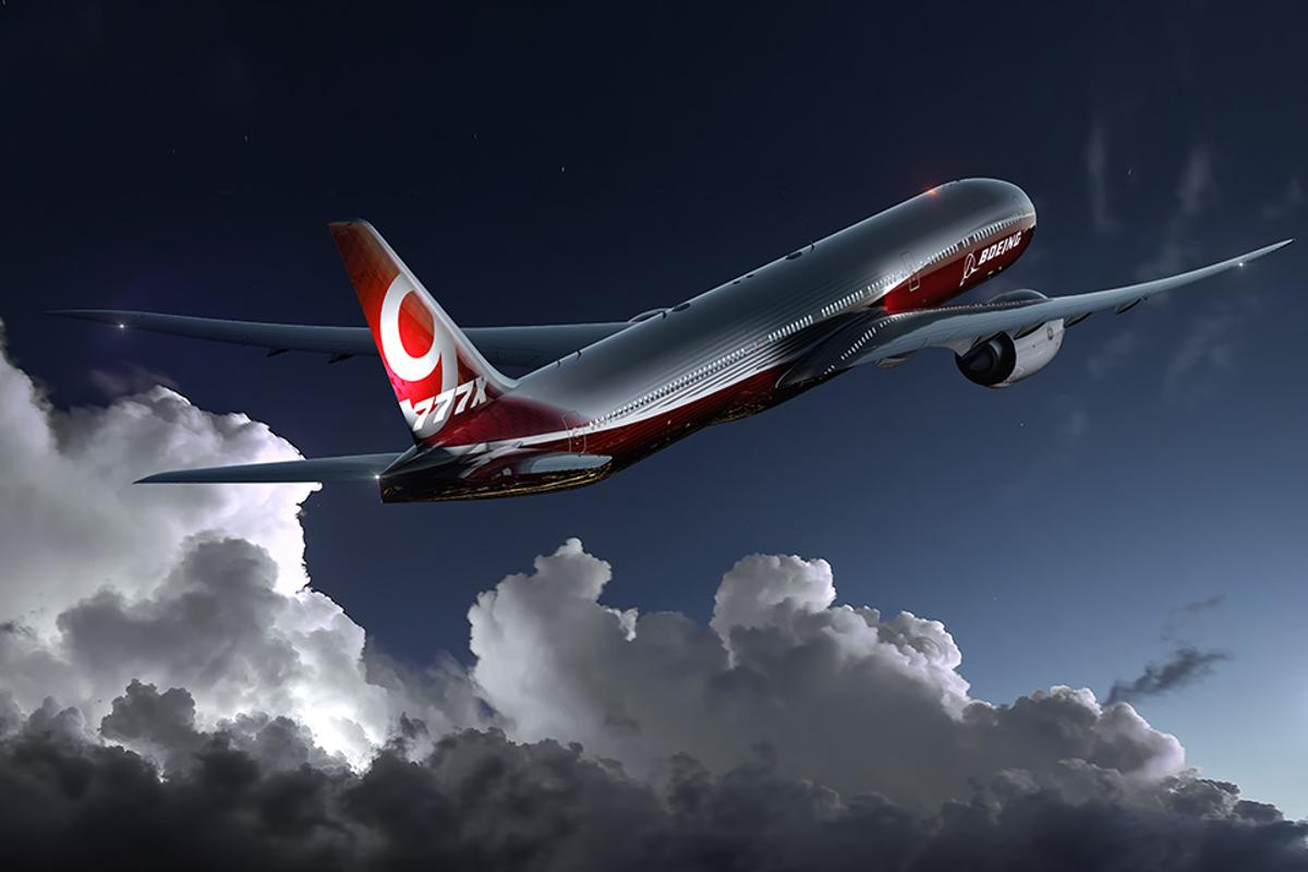 Production has kicked off on the Boeing 777X