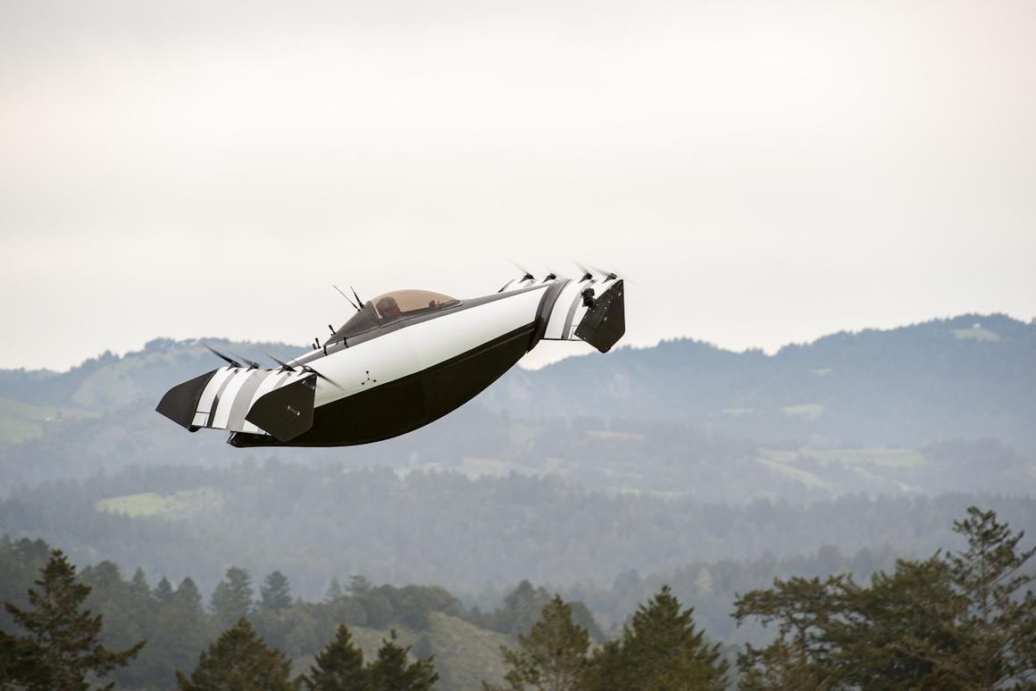 BlckFly is a single-seater electric VTOL aircraft