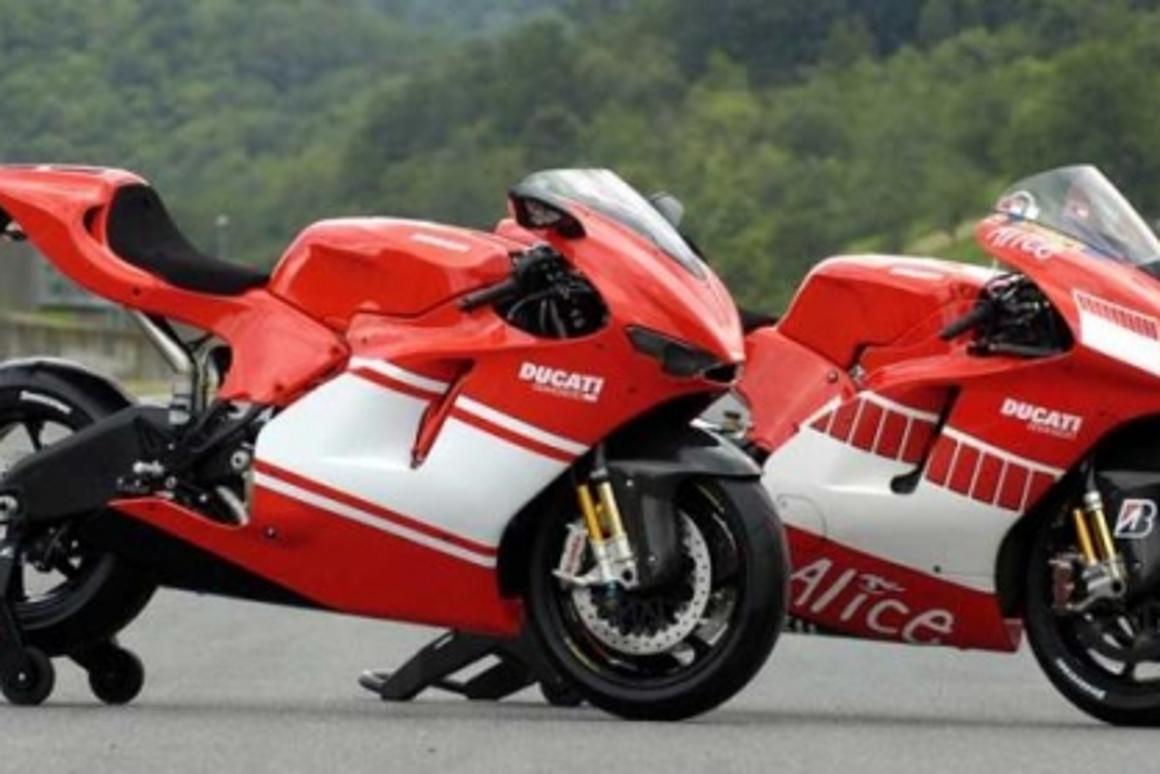 Ducati's US$70,000 Desmosedici RR MotoGP replica for the road