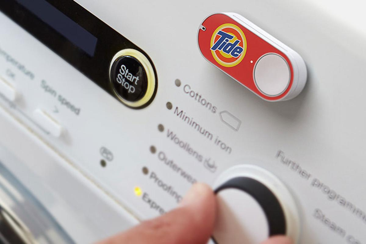 The next time your detergent is almost out, Amazon Dash button can save you the grueling headache of pulling out your phone and opening an app