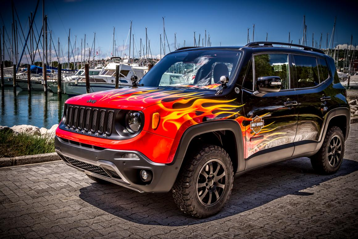 The show Jeep debuts at this week's H.O.G. Rally