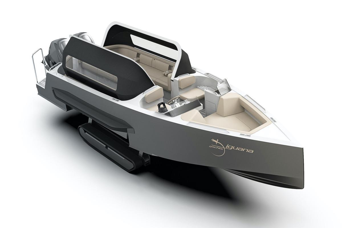 Iguana presents its latest vessel, a 12-passenger amphibious Day Limo