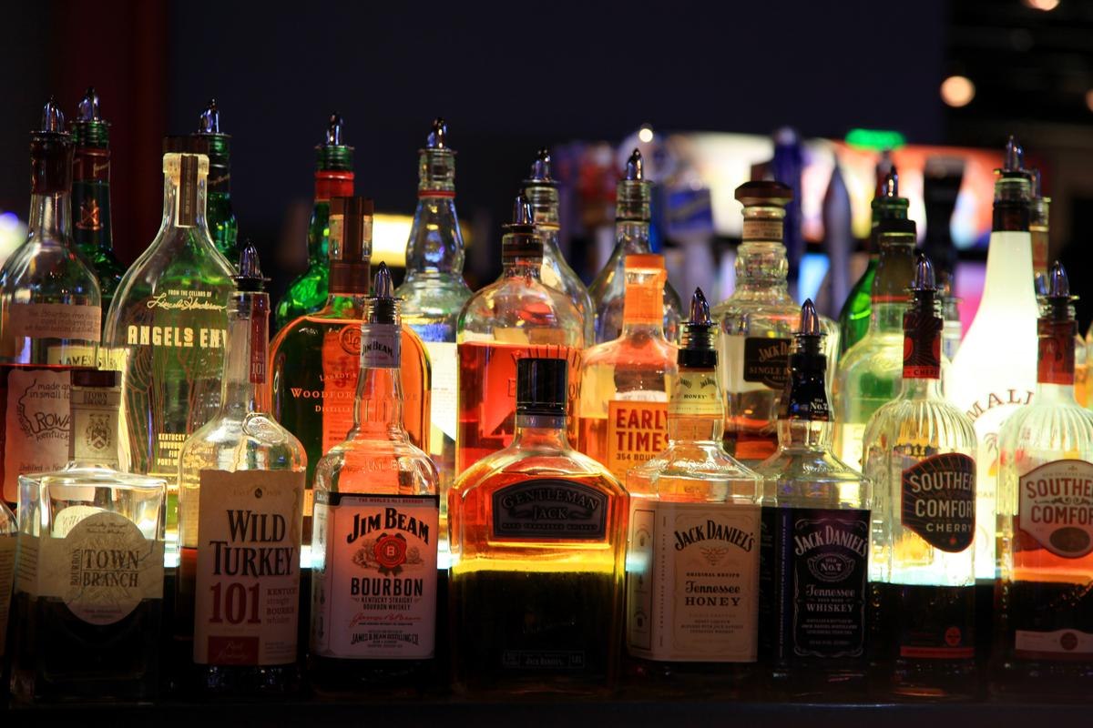 Liquor in bars may not necessarily be what the label says it is