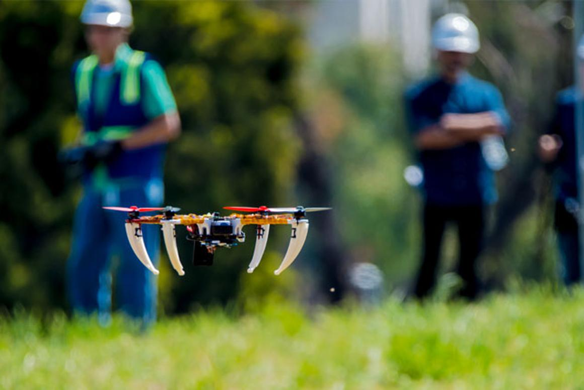 The drones will be powered by Qualcomm's Snapdragon Flight platform
