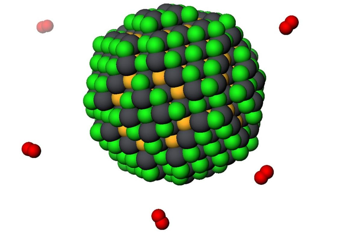 A new type of quantum dot could lead to cheaper solar cells and better satellite communication (Image: University of Toronto)