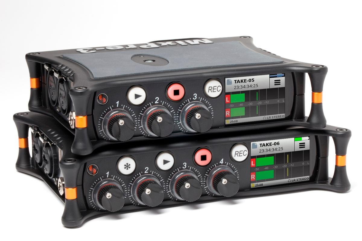 The MixPre Series portable recorders and audio interfaces from Sound Devices