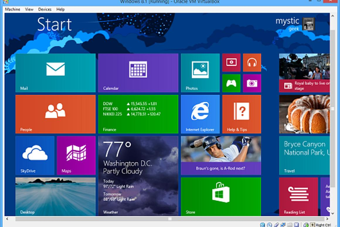 How To Install Windows 8 1 Preview On A Virtual Machine