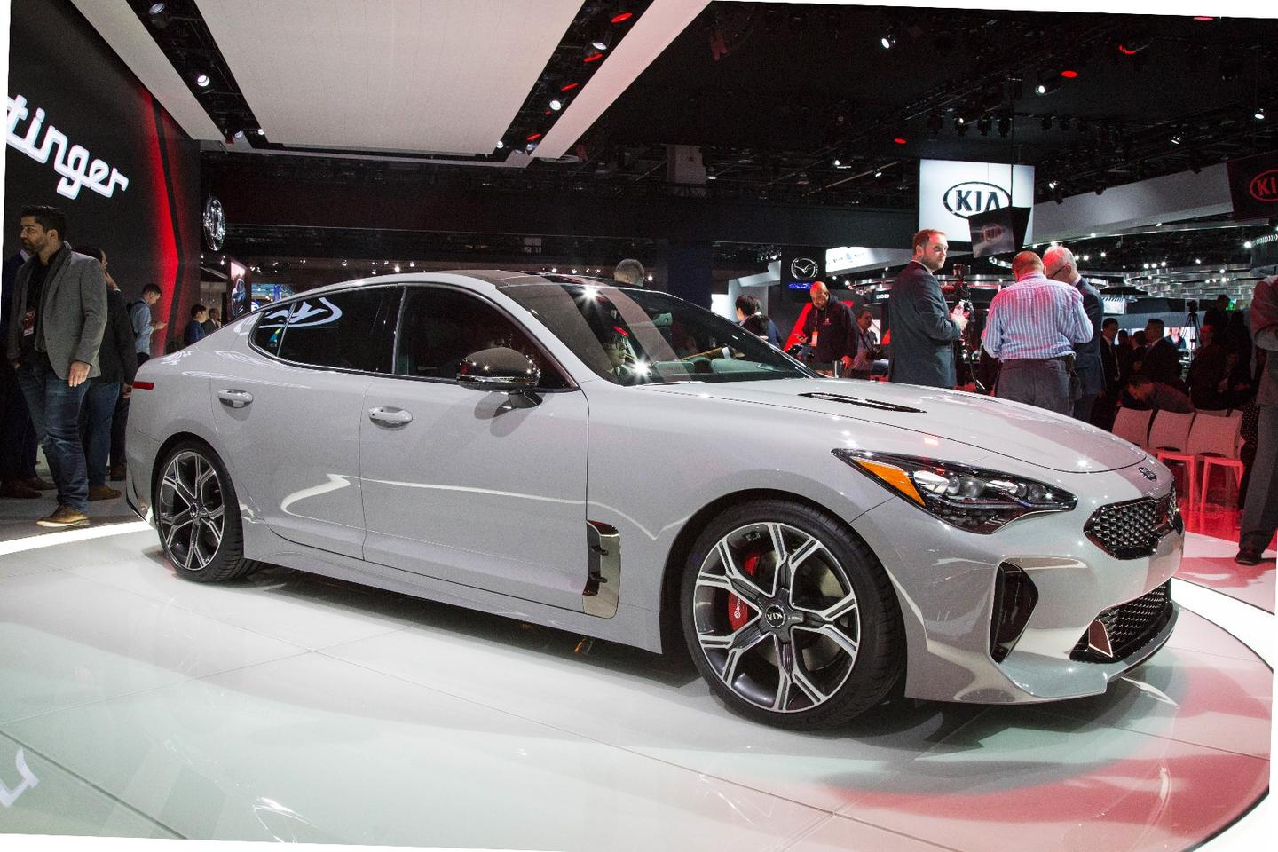 Kia reveals the Stinger at NAIAS 2017