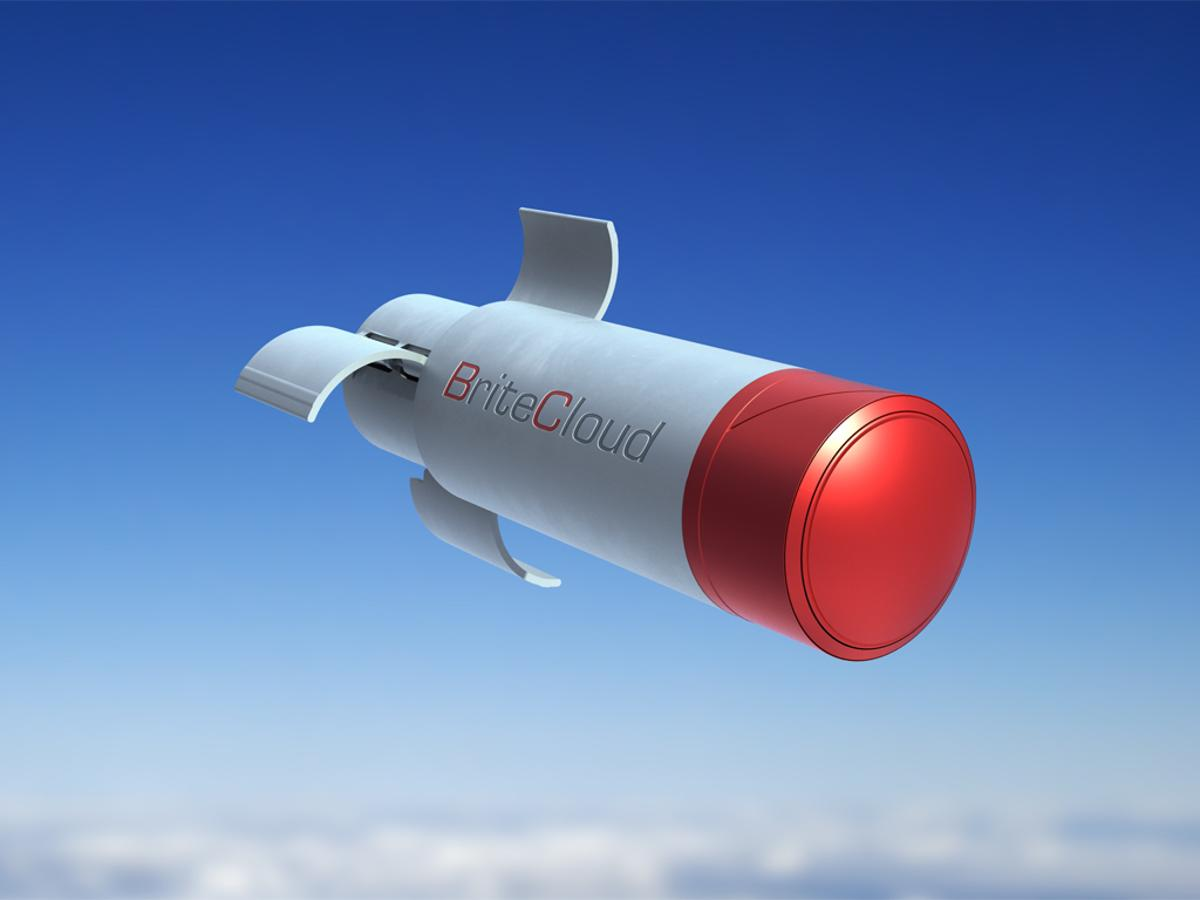 The BriteCloud 55T is designed to protect large military transport aircraft