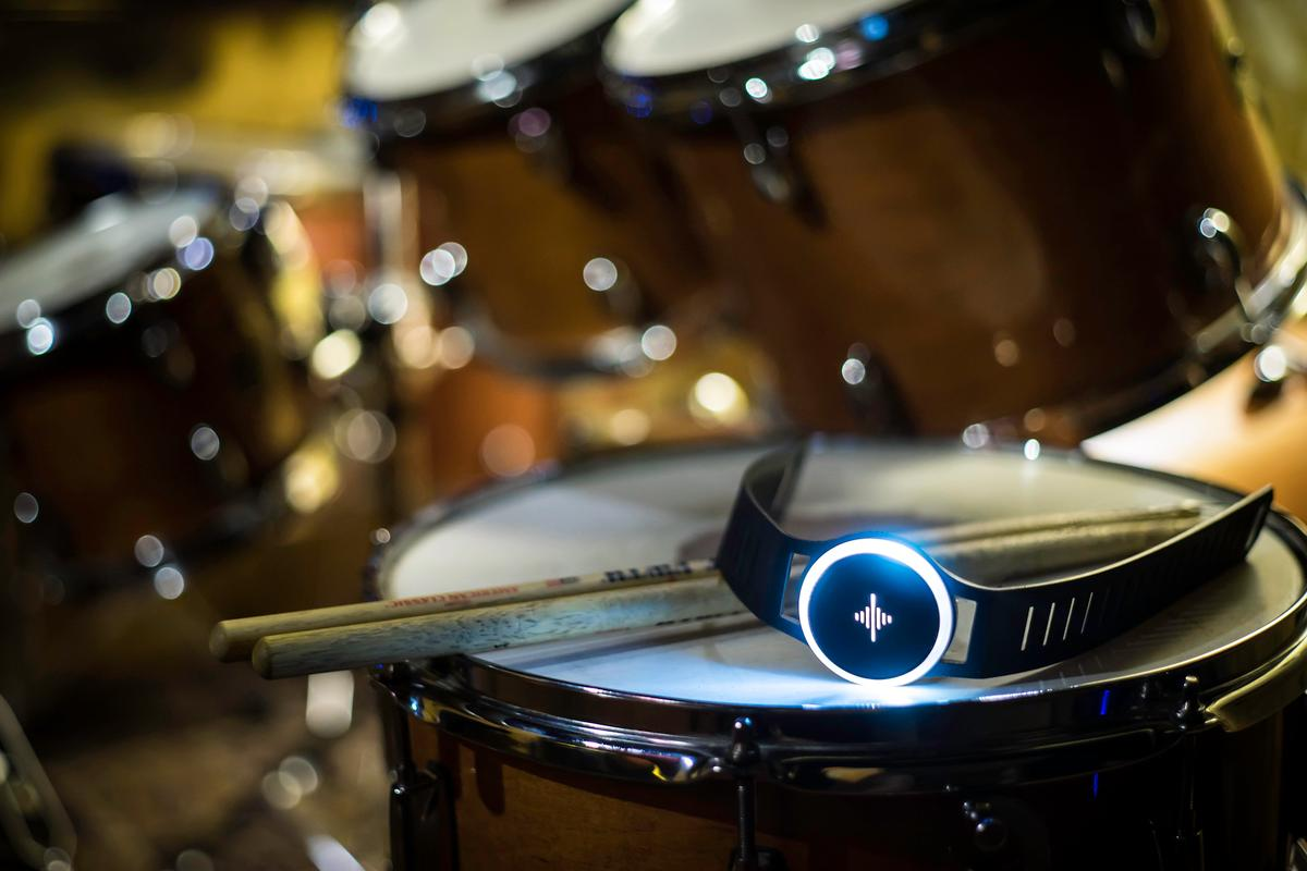 The Soundbrenner Pulse vibrational metronome