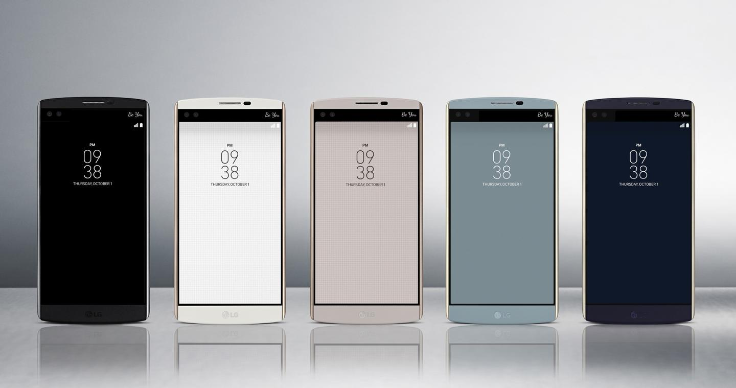 Overall the V10 weighs 192 g (6.77 oz) and comes in black, luxe white, beige, ocean blue and opal blue