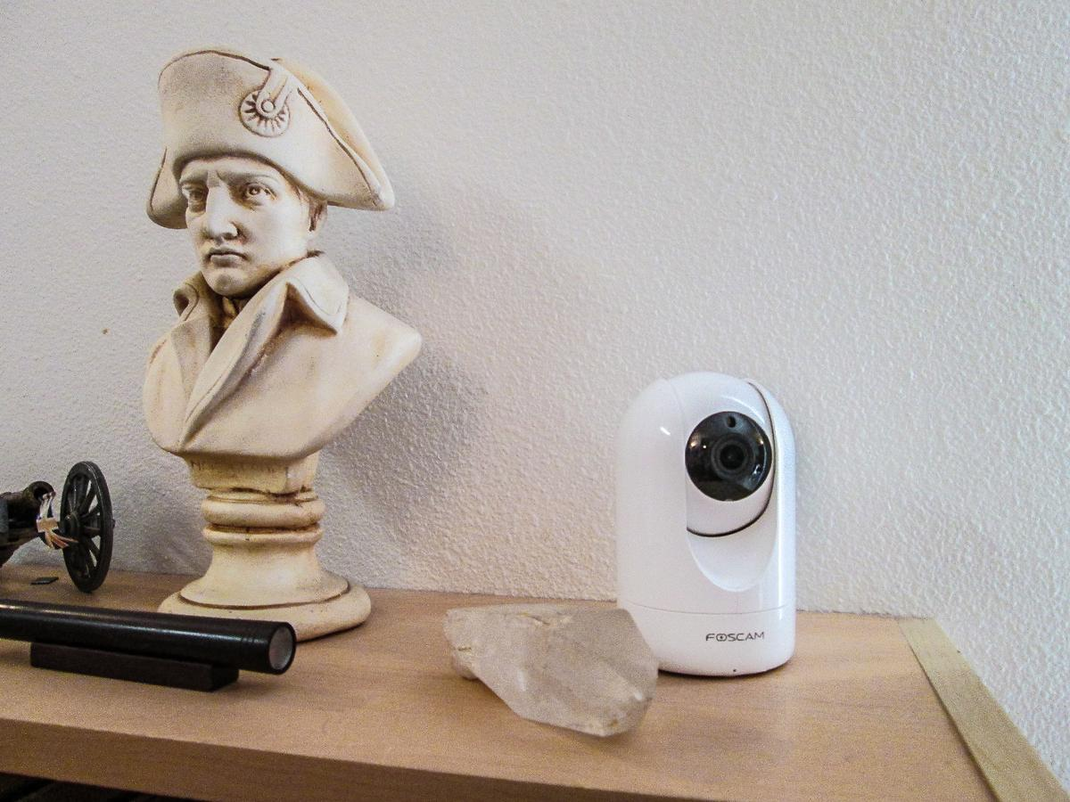 The R2 is designed for interior security for homes and businesses