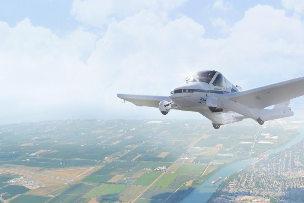 The Terrafugia Transition has a flight cruise speed of 100 mph (161 km/h) and a range of 400 miles (644 km)