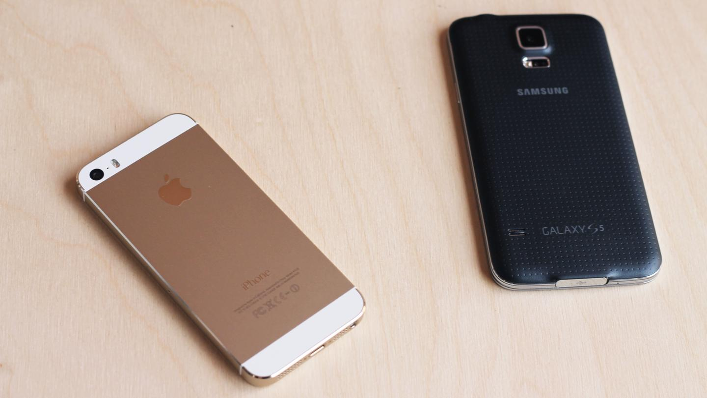 iPhone 5s vs  Galaxy S5: A closer look