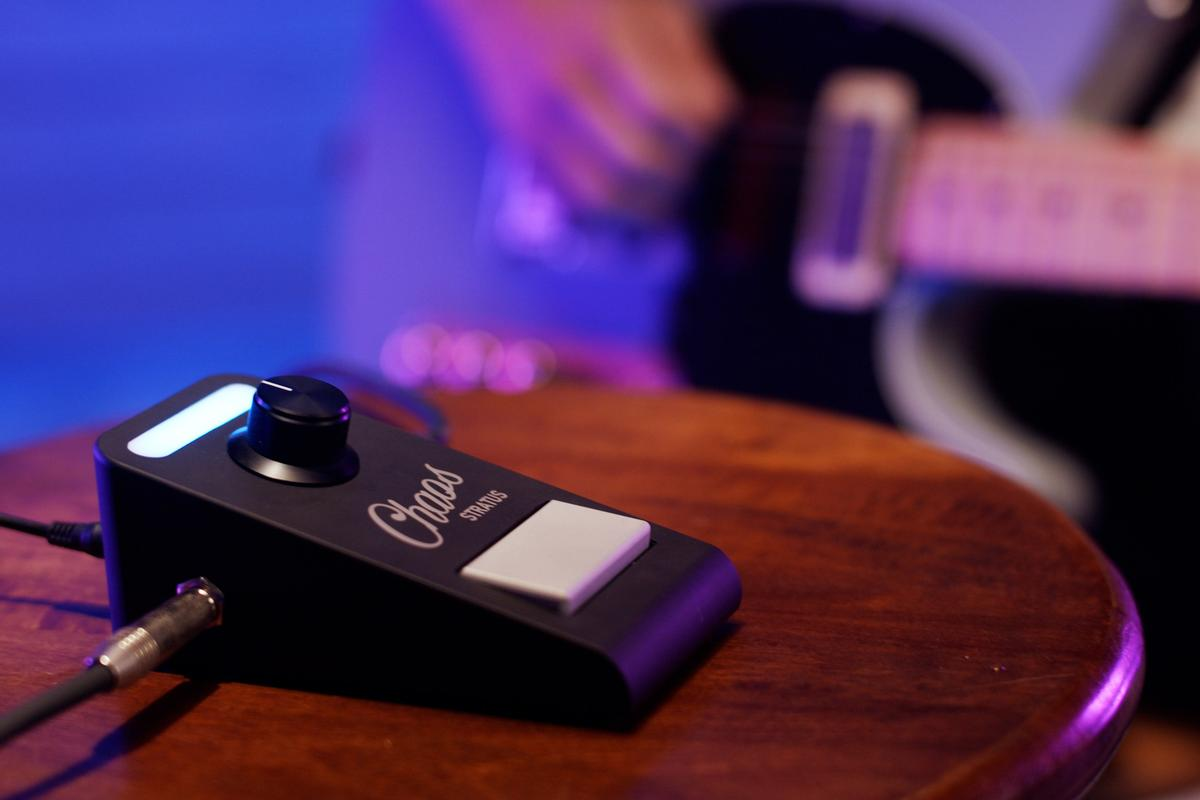 The Stratus can serve as a single effects pedal, or rock up to five FX at once
