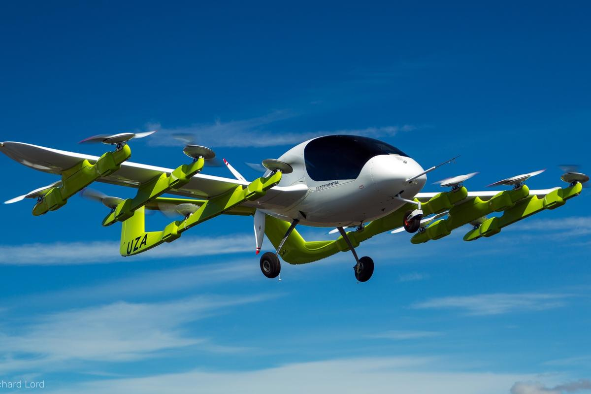 Kitty Hawk's Cora self-flying air taxi for two has officially launched in New Zealand