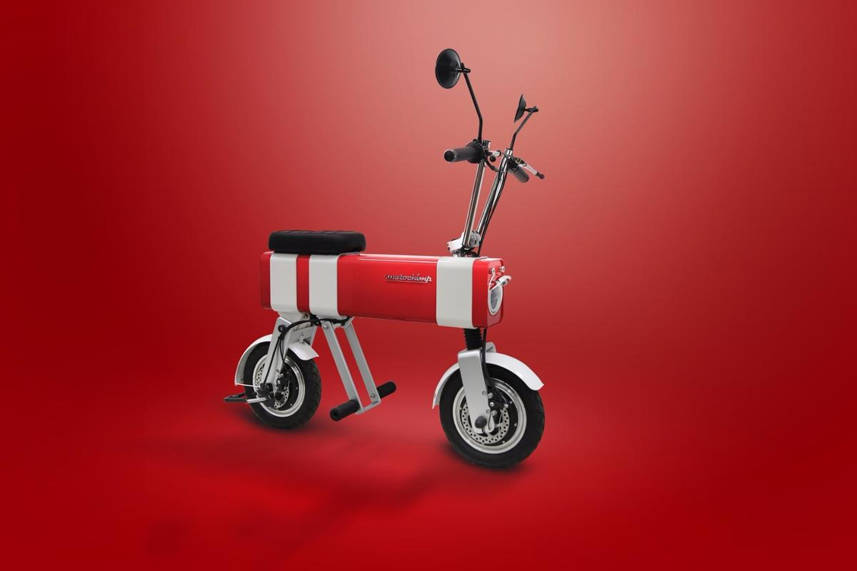 The Motochimp has an extruded aluminum alloy rectangular body unit