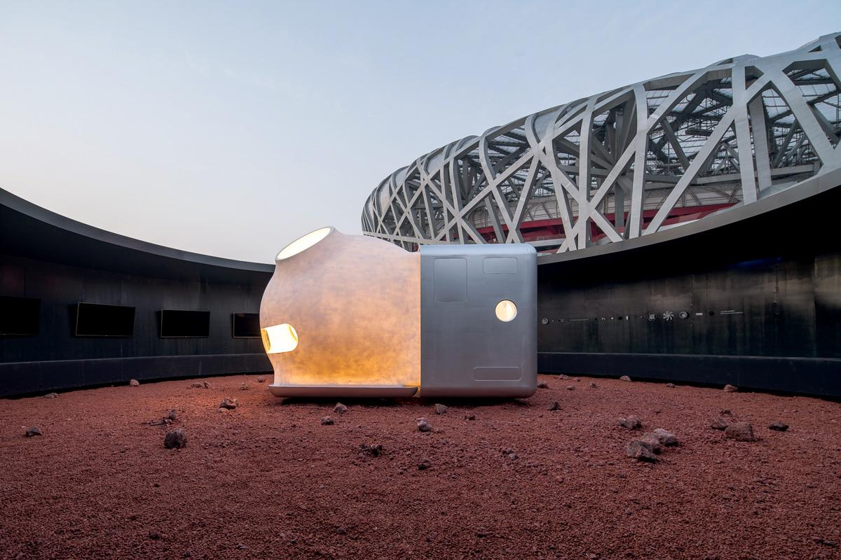 The Mars Case shelter is inspired by Henry David Thoreau's book Walden and his experience living simply