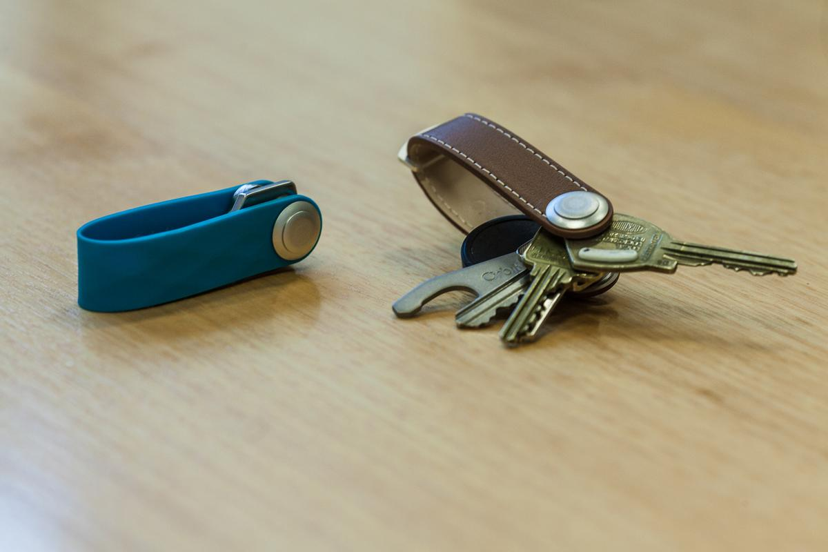 The Orbitkey is touted as an elegant, practical way to carry one's keys