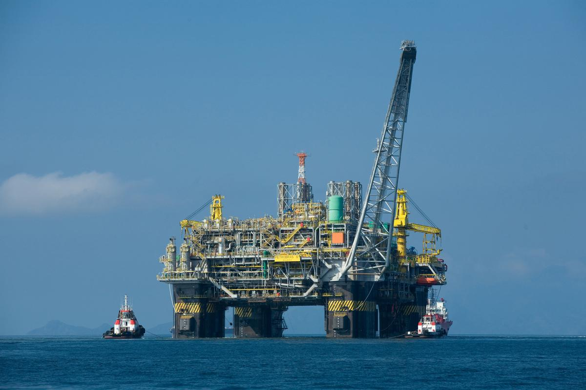 Brazilian oil platform P-51 (Image: Agência Brasil/Wikipedia)