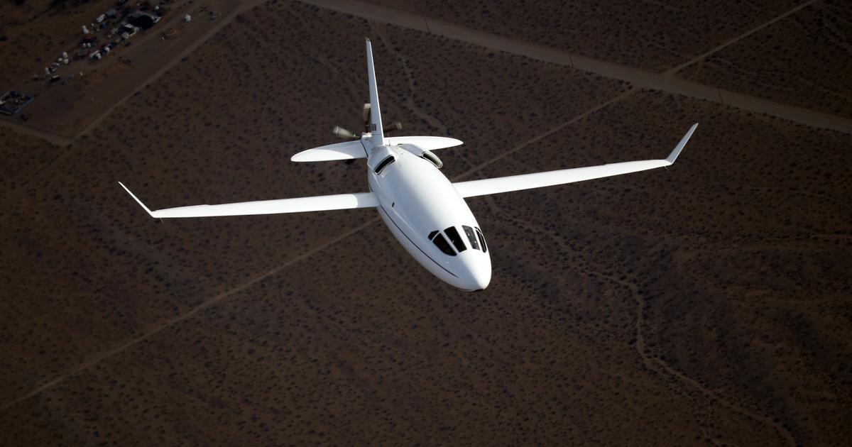 "Remarkable low-drag ""bullet plane"" aims to democratize private flight"