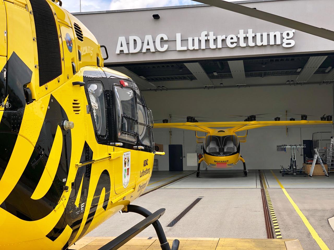 Multirotor eVTOL은 공중 구조 작업에서 헬리콥터를 대체하지 않지만 함께 작동합니다.