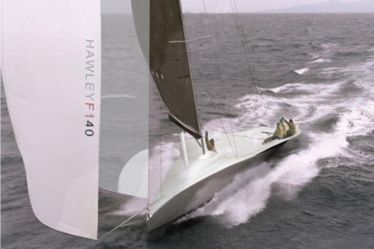 Hawley F140 concept yacht