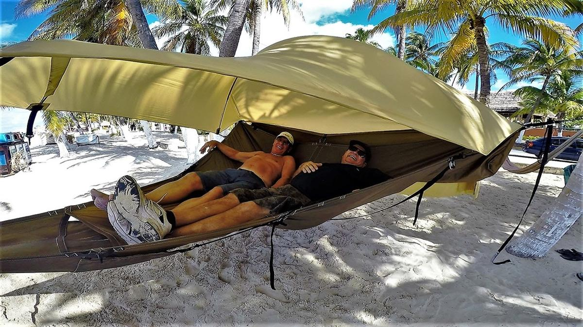 The Treble Hammock 2.0 is currently the subject of a Kickstarter campaign
