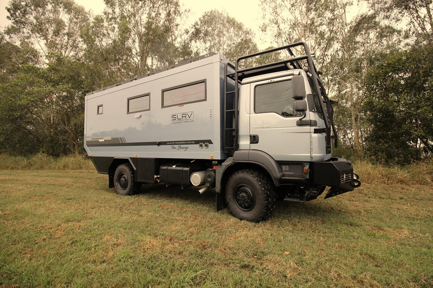 SLRV builds the smaller Commander 4x4 on a MAN chassis
