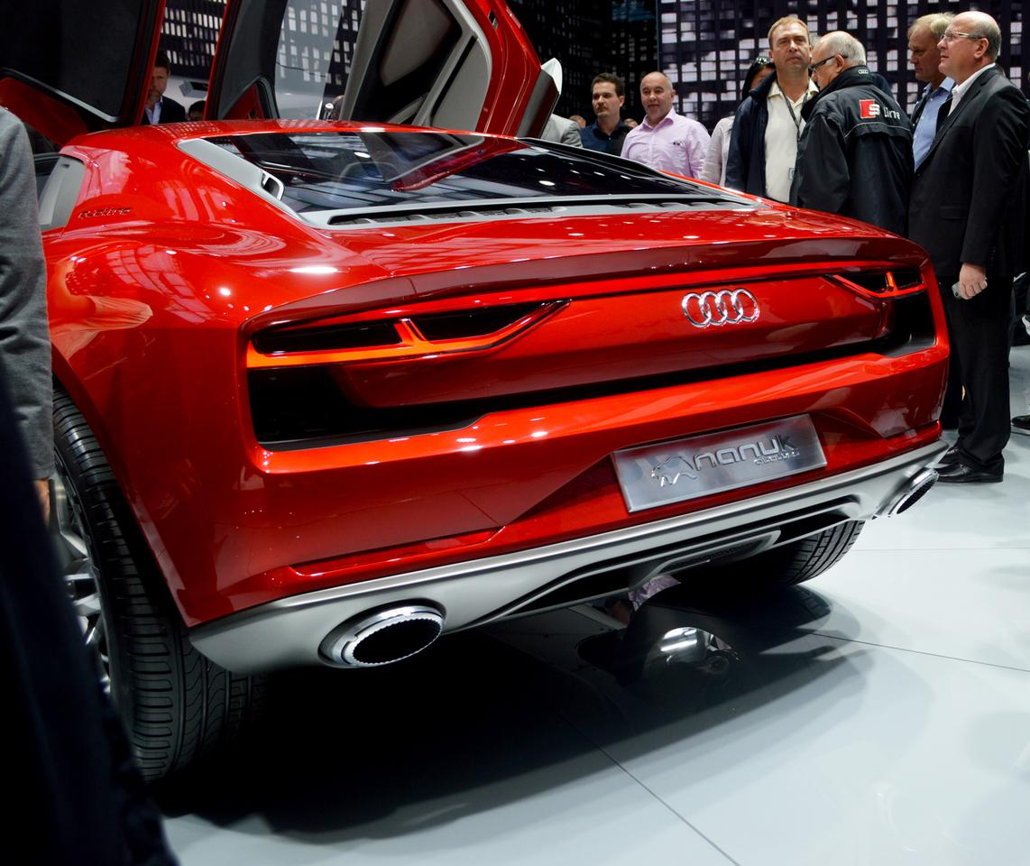 The Audi Nanuk Quattro picks up where the Italdesign Parcour left off