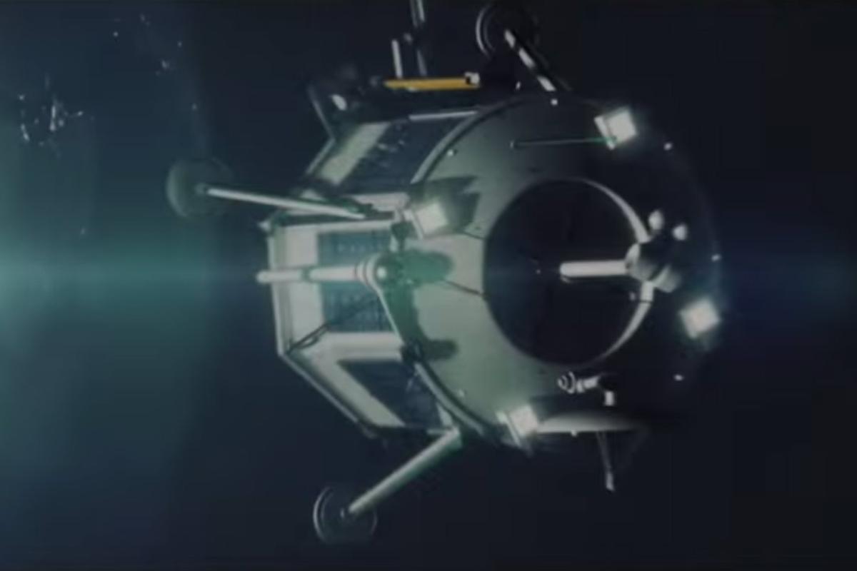 Rendering of Lunar Mission One lander