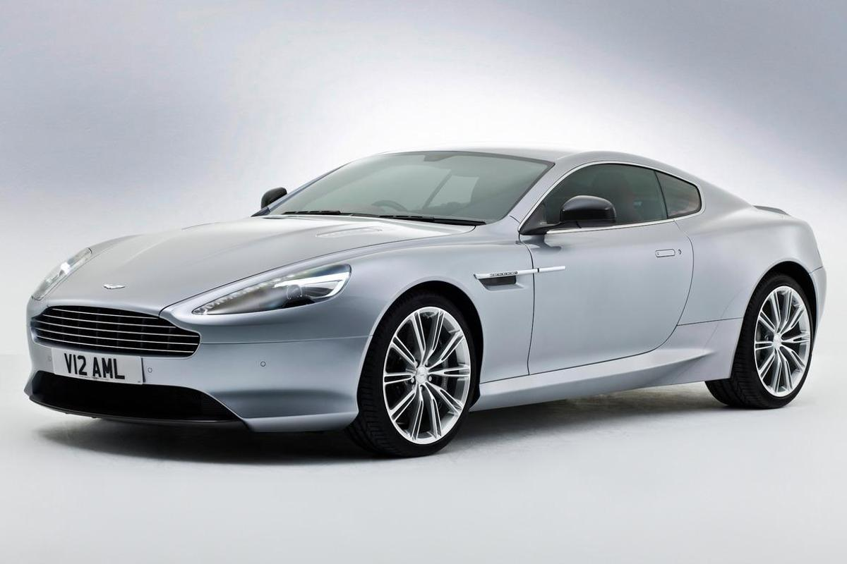 The 2013 Aston Martin DB9 is powered by a quad overhead camshaft, 48 valve AM11 V12 engine (Image: Aston Martin)