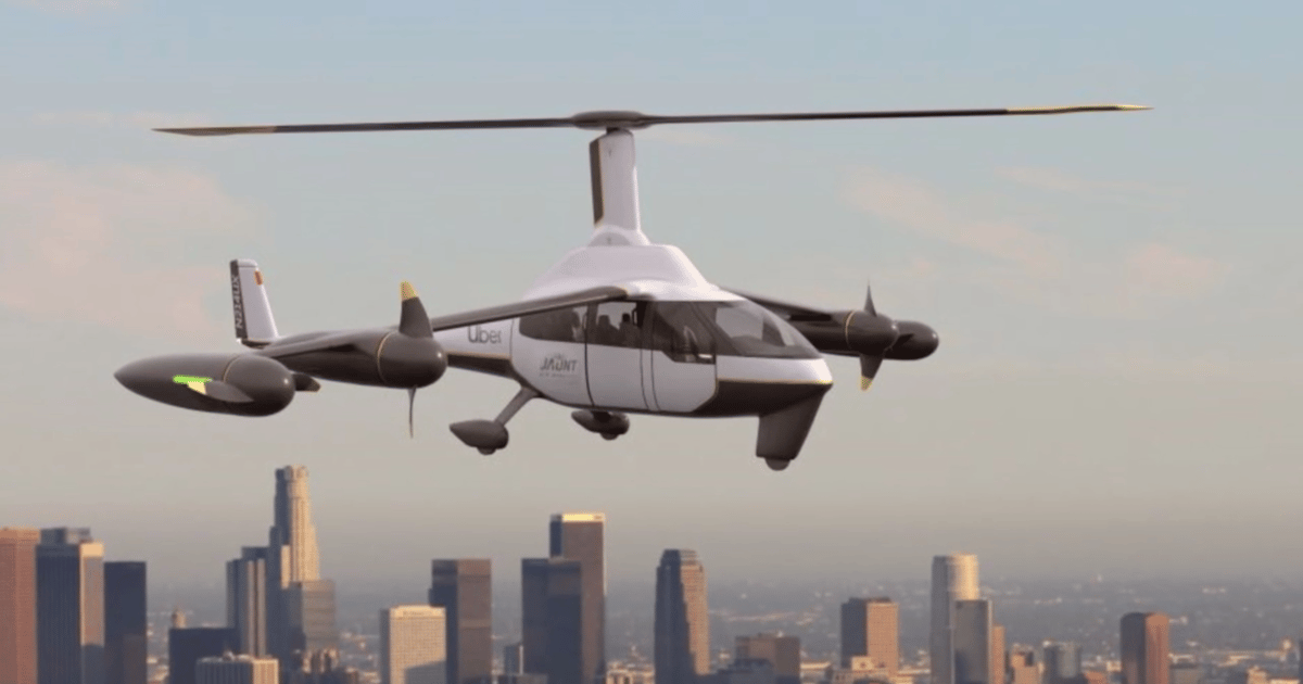 Jaunt's ROSA gyrodyne: The first eVTOL air taxi that actually looks safe