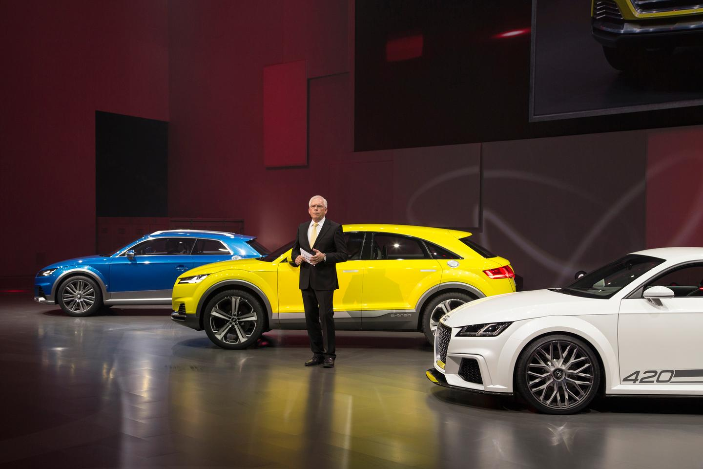 Audi at the 2014 Beijing auto show