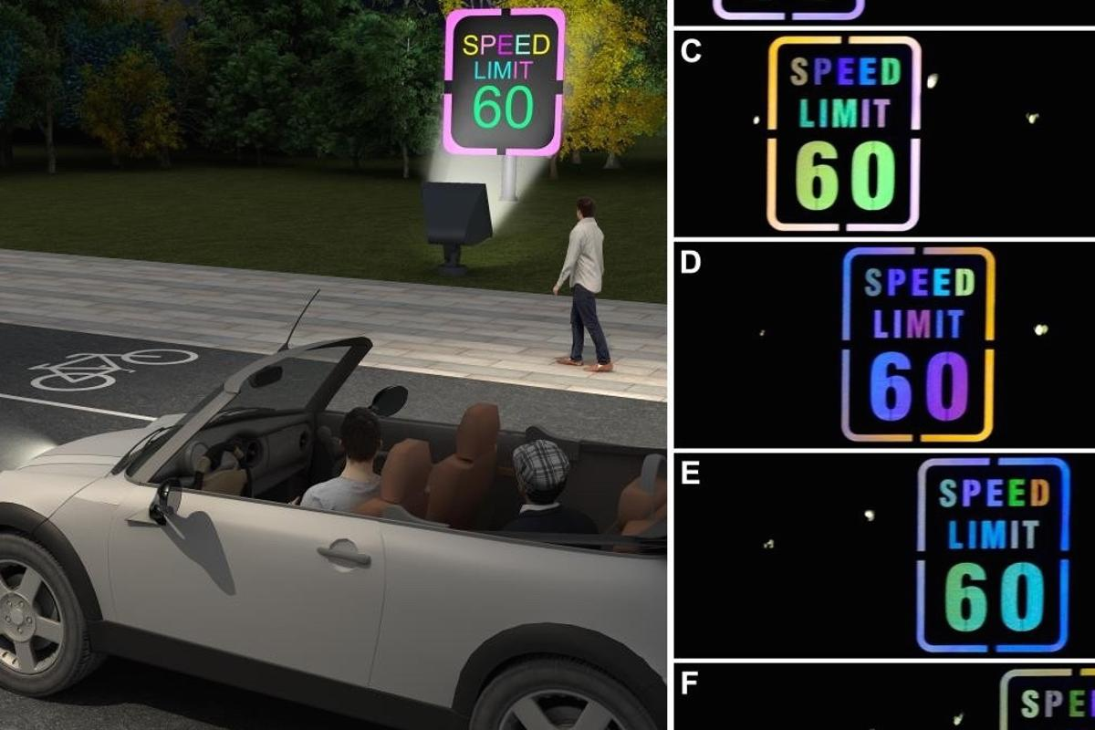 The technology may help alert both motorists and pedestrians