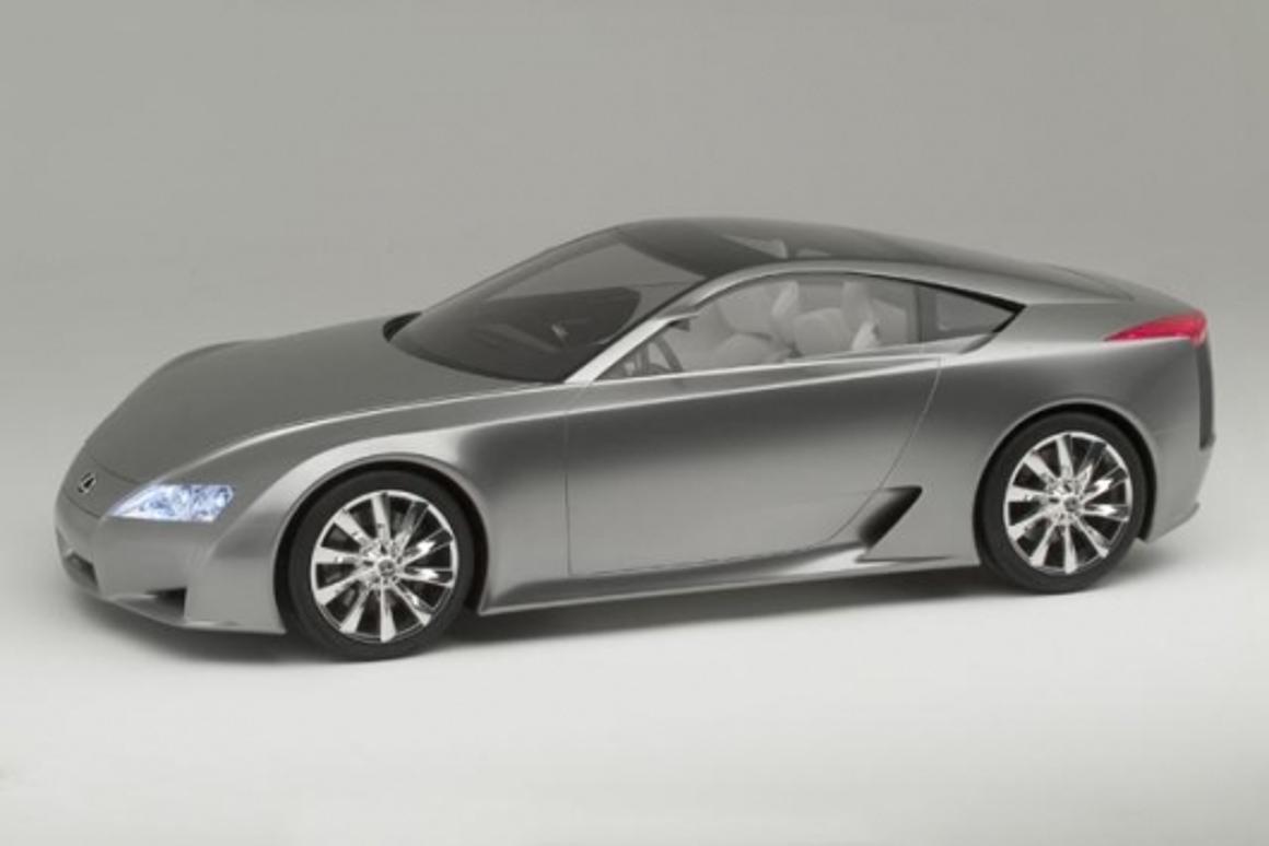 Lexus Unveils 500-Plus Horsepower, 200 MPH Sports Car Concept