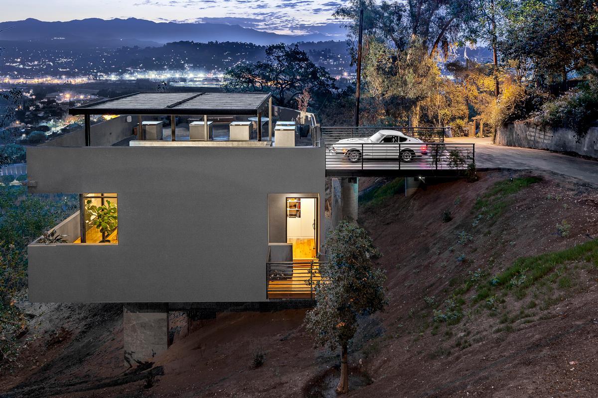 Car Park House is based in Echo Park, Los Angeles (Photo: Steve King)