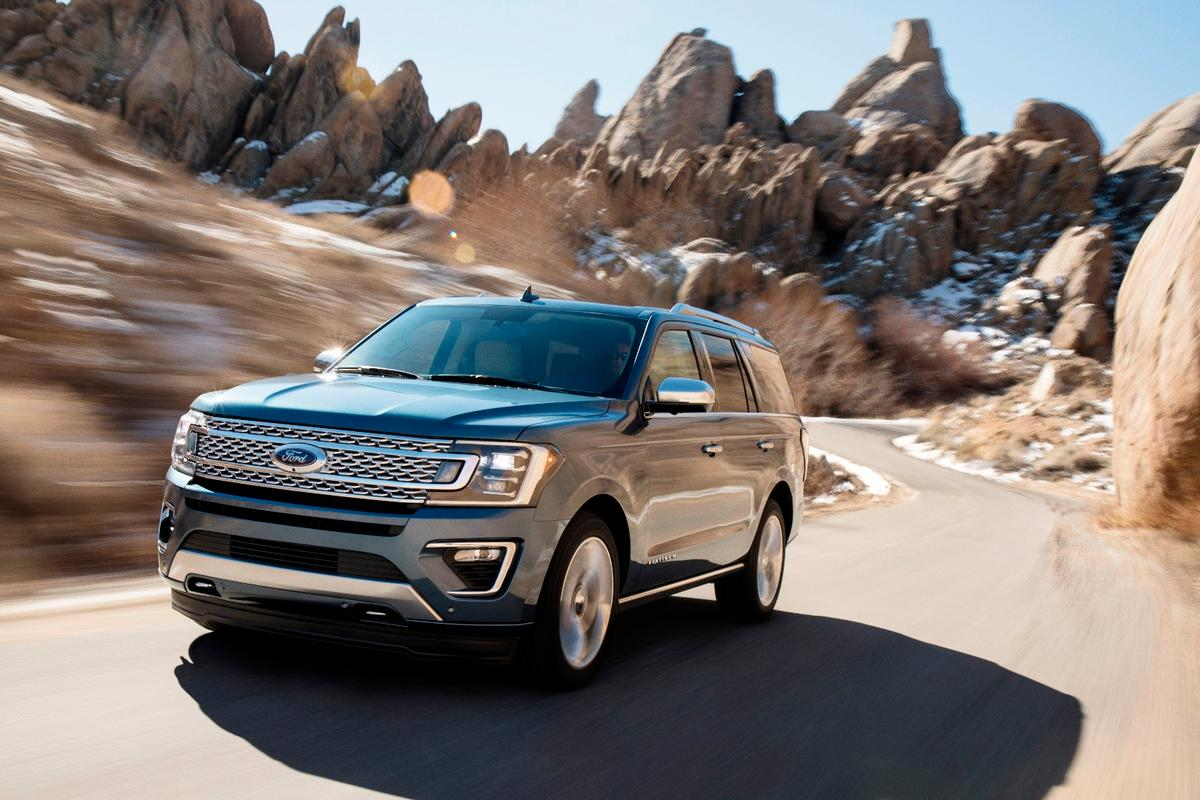 The new Ford Expedition has been on a crash diet