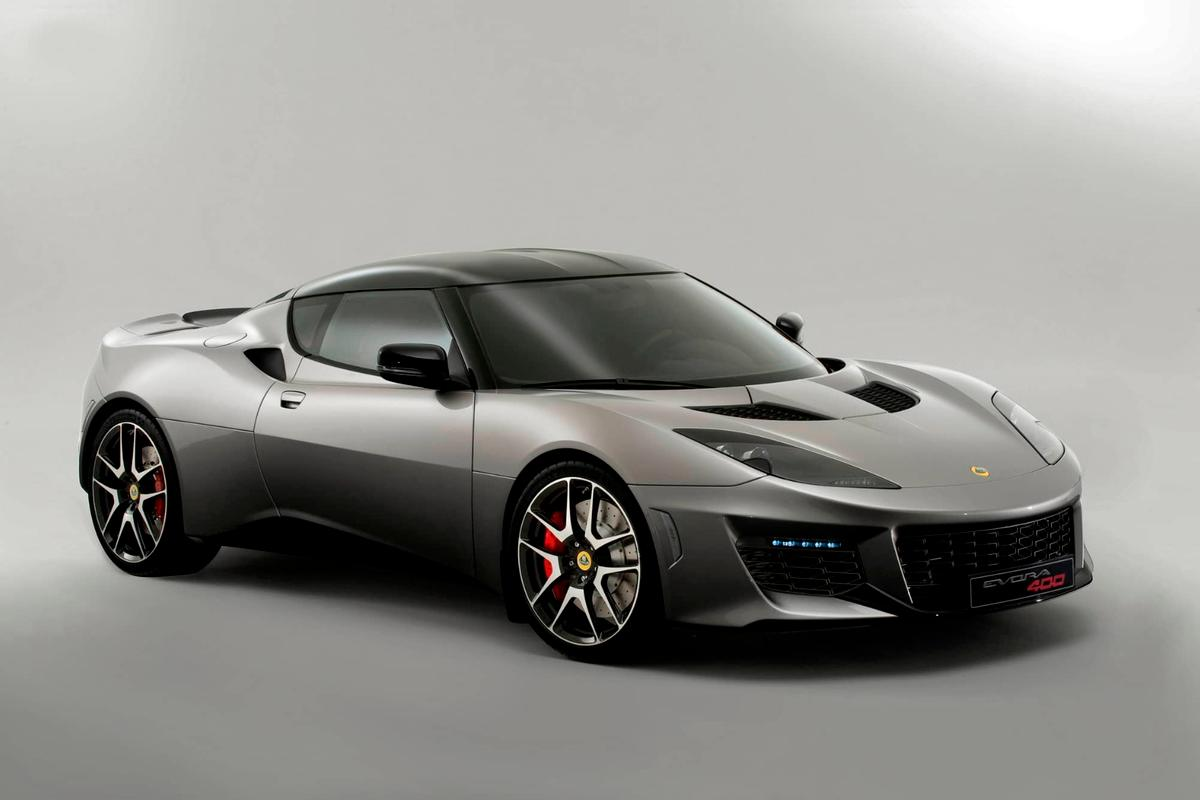 The Lotus Evora 400 can be made faster and more focused with the right options