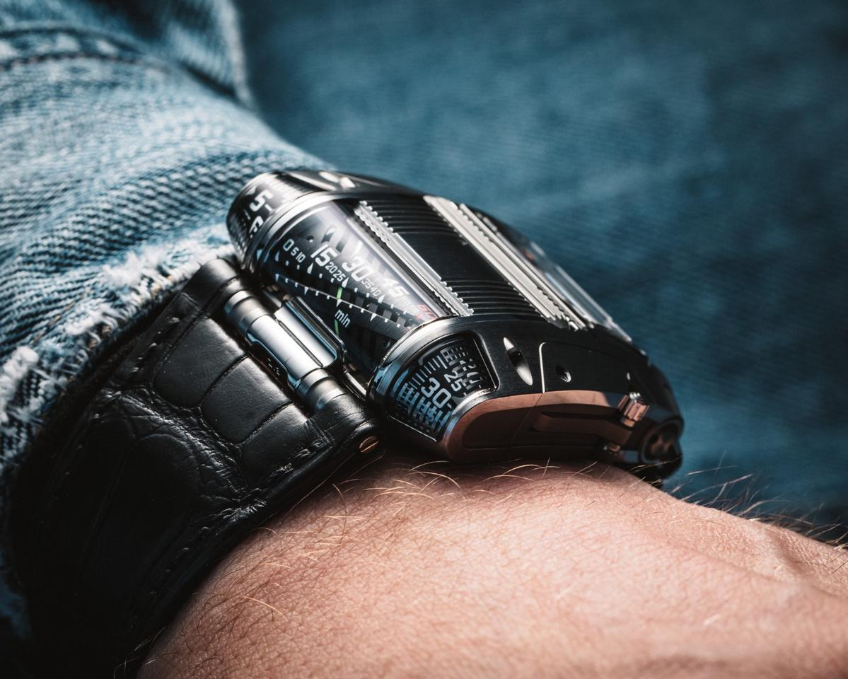 The Urwerk UR111C is available in a limited edition of 50 units
