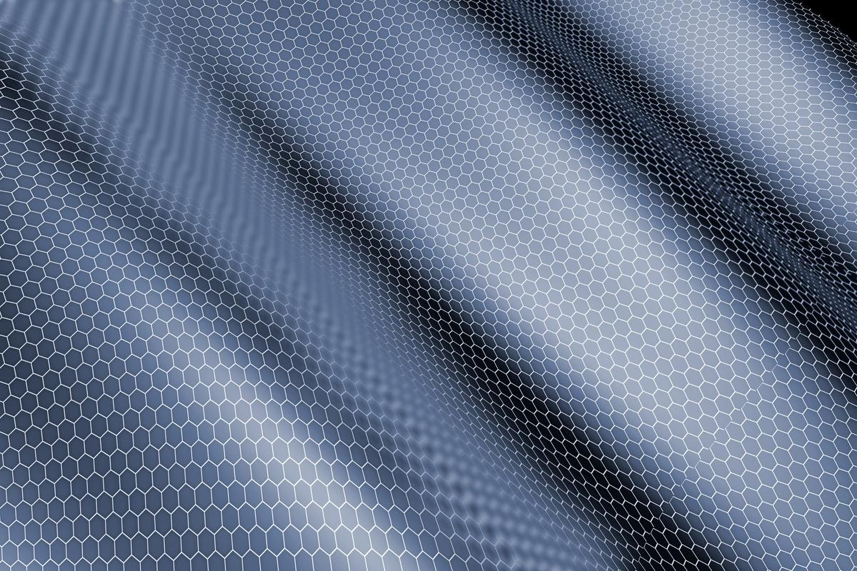 Graphene is a one-atom-thick sheet of carbon atoms, linked together in a honeycomb pattern