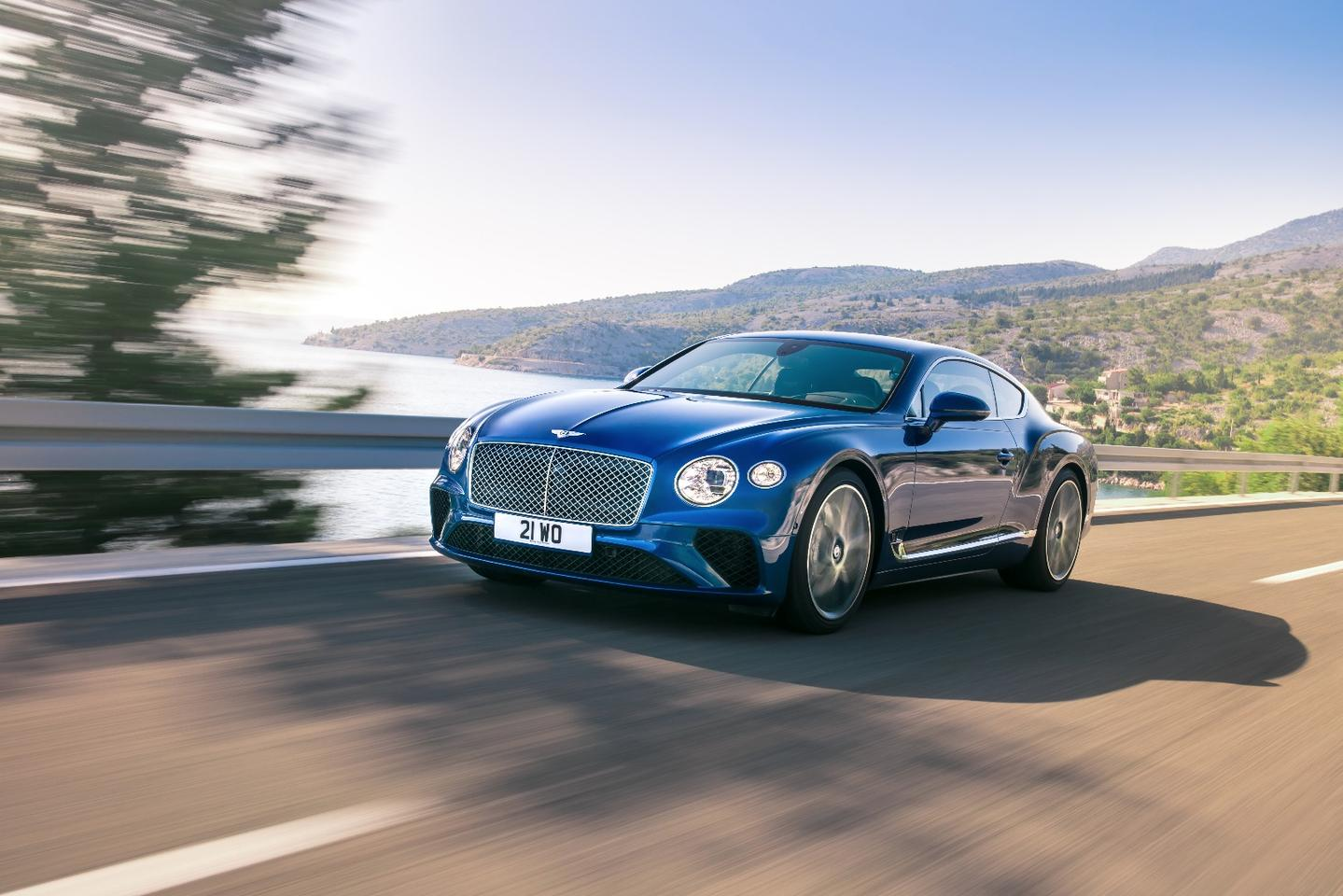 The new Bentley Continental GT is powered by a W12