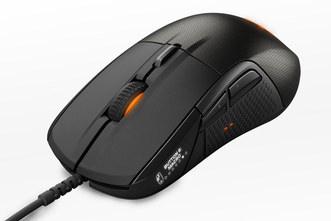 """Described as the """"first smart gaming mouse,"""" the Rival 700 provides high levels of customization and upgradability"""