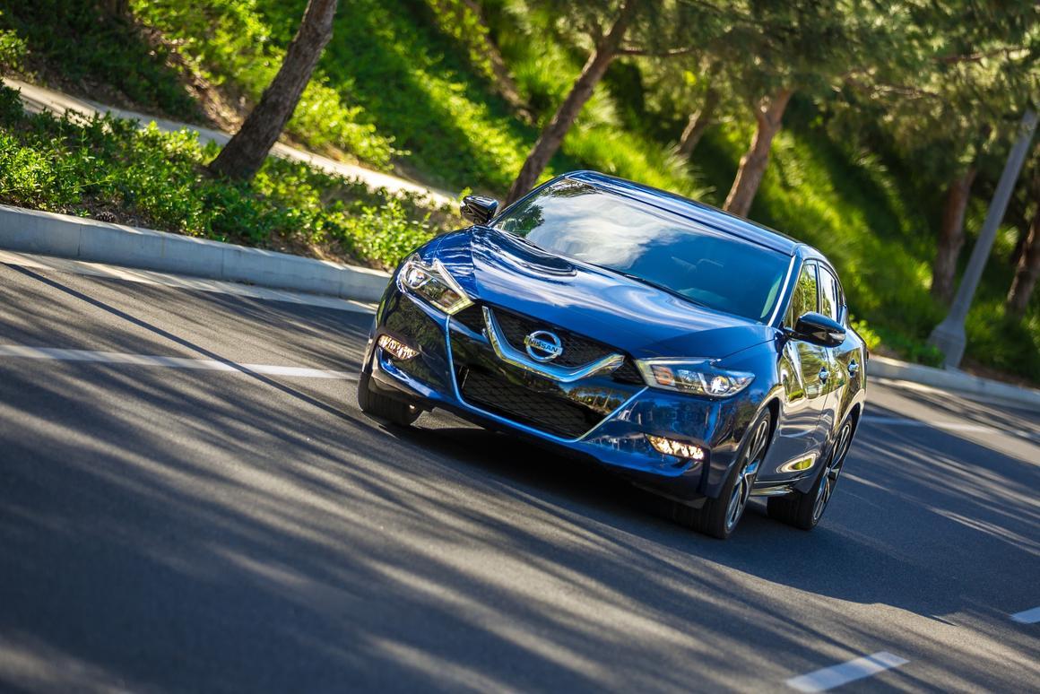 The 2016 Nissan Maxima