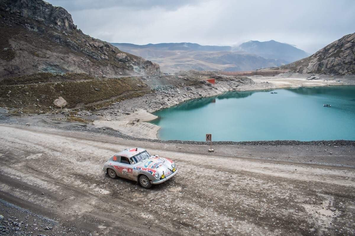The Valkyrie 356 h as already navigated gravel, dirt, sand and pavement, and now it prepares to