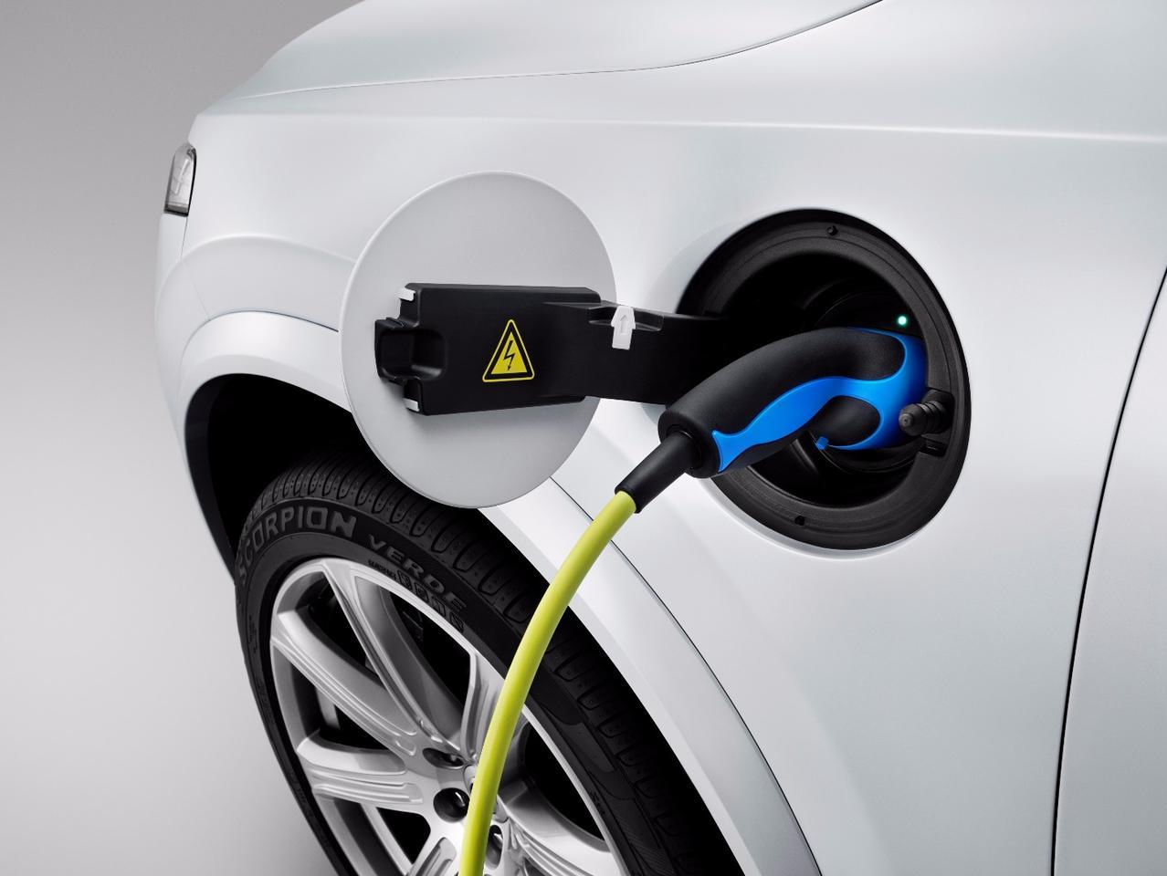 The XC90 SUV with plug-in hybrid powertrain